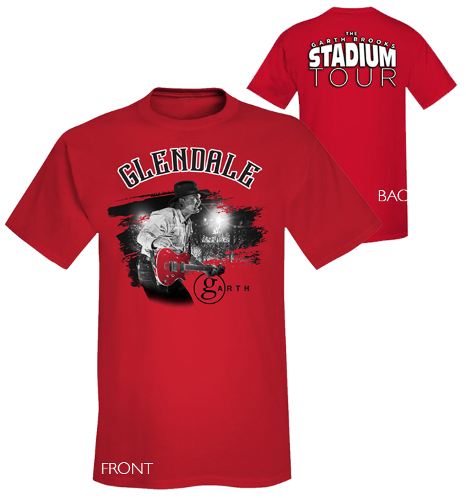 STADIUM TOUR EVENT TEE - GLENDALE
