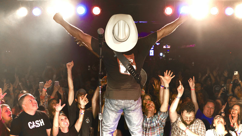 Garth Brooks Rocked Out The Diamond Ballroom in Oklahoma City on Monday Night - 700 Contest Winners Were in Attendance