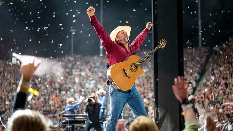Exclusive, One Night Only Garth Brooks Concert Set For 300 Drive-In Theaters Across North America