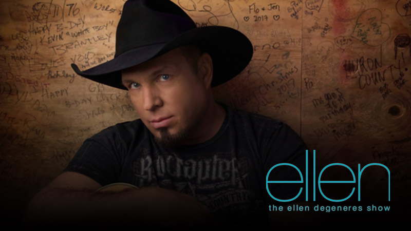 "GARTH MAKES VIRTUAL GUEST APPEARANCE ON ""ELLEN"" ON MARCH 19"