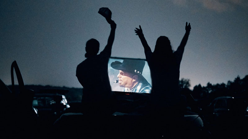Garth Brooks Accomplishes The Impossible Entertaining Over 350,000 Fans With A One-Night-Only Live Concert At Drive-In Theaters Across North America