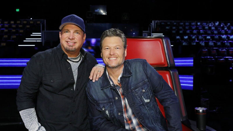 "GARTH BROOKS ANNOUNCES DUET WITH BLAKE SHELTON - ""DIVE BAR"""