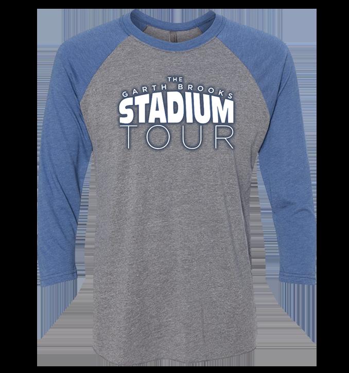 BLUE/GREY STADIUM TOUR RAGLAN