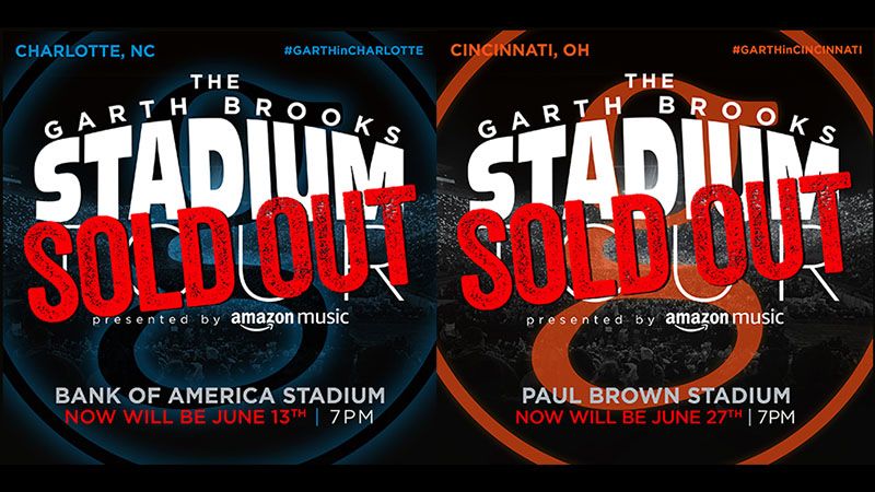 Garth Brooks Reschedules Upcoming Stadium Concerts