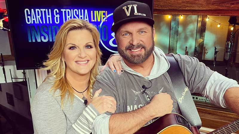 "CBS TO AIR A REBROADCAST OF ""GARTH & TRISHA LIVE!,"" ON SUNDAY, APRIL 5, ON CBS"
