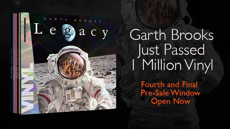 Garth Brooks Just Passed 1 Million Vinyl