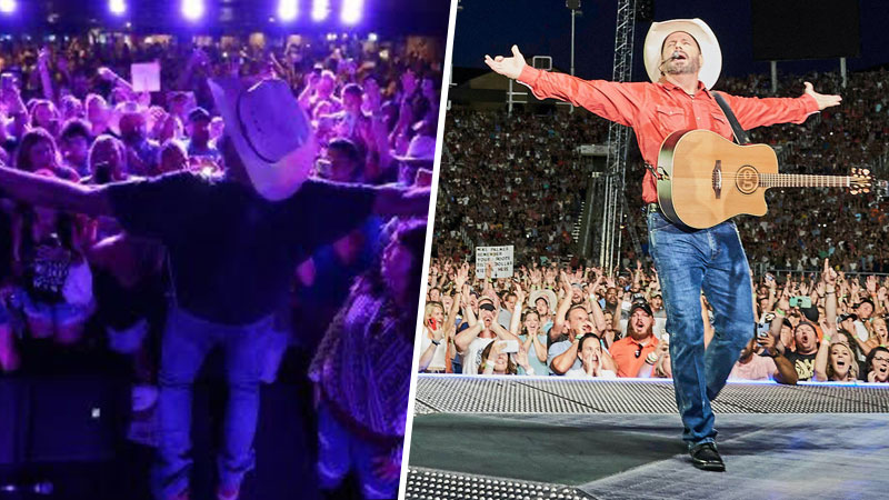 FROM A DIVE BAR SHOW AT THE WESTERNER TO A PACKED HOUSE AT RICE-ECCLES STADIUM, GARTH BROOKS TAKES SALT LAKE BY STORM