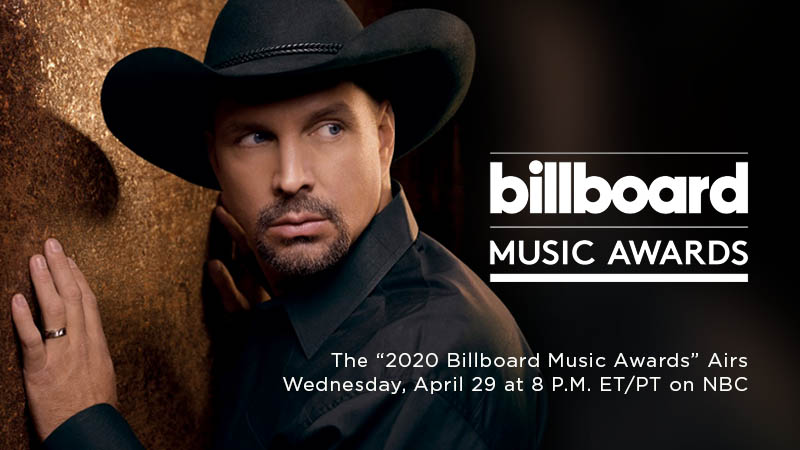 "GARTH BROOKS TO RECEIVE COVETED ICON AWARD AT THE ""2020 BILLBOARD MUSIC AWARDS""  BROOKS WILL ALSO TAKE THE STAGE FOR HIGHLY ANTICIPATED PERFORMANCE"