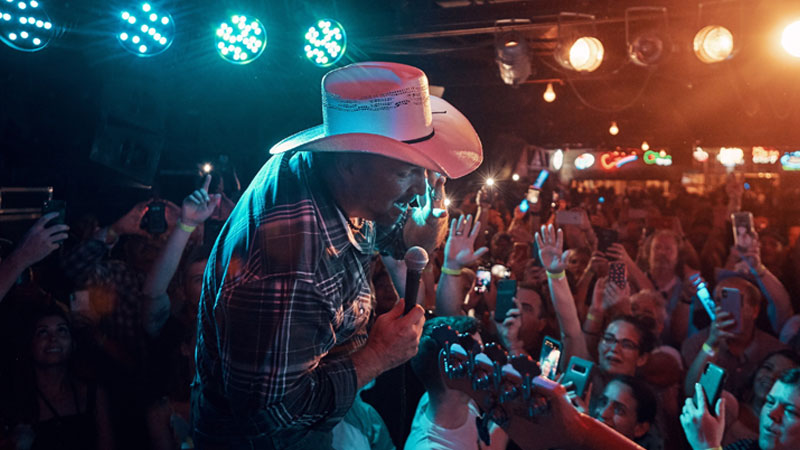 It Was A Rowdy Honky-Tonk At Garth Brooks' Third DIVE BAR Concert  At The Legendary Gruene Hall In New Braunfels, TX