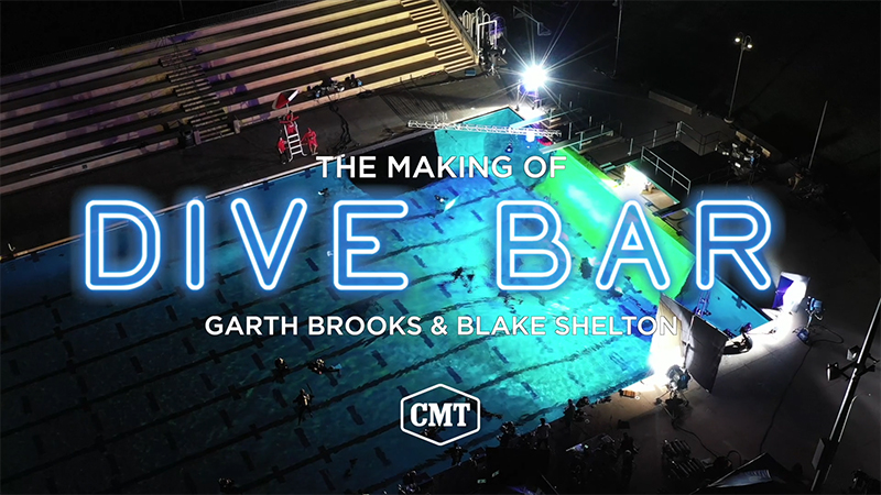 "GARTH BROOKS' ""THE MAKING OF DIVE BAR"" EXCLUSIVE PREMIERE WILL AIR ON CMT ON JANUARY 18 AND 19 AS PART OF ""GARTH WEEKEND"""