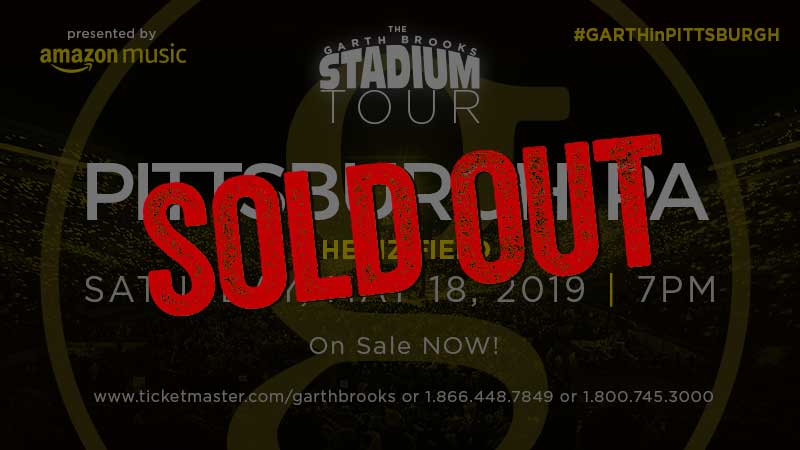 GARTH BROOKS: A Record-Setting Sellout!