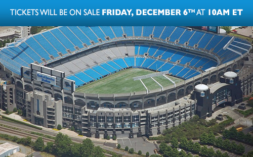 THE GARTH BROOKS STADIUM TOUR IS COMING TO CHARLOTTE, NC - BANK OF AMERICA STADIUM